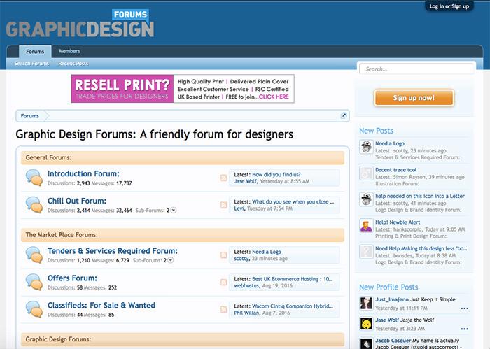 graphicdesignforums