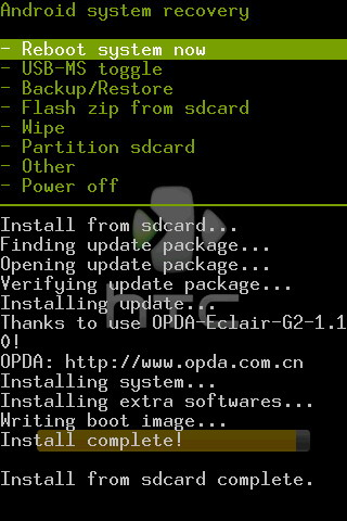install-from-sdcard-complete