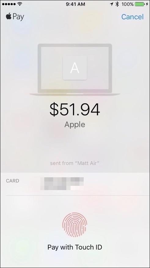 magasiner avec Apple Payer sur macOS Sierra 3