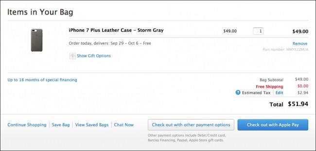 magasiner avec Apple Payer sur macOS Sierra