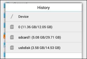 monter un lecteur flash sur votre appareil Android 2