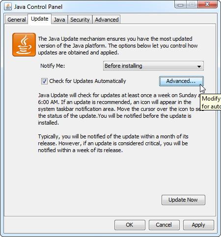 protéger contre les problèmes de sécurité Java 4