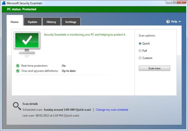 scanner votre ordinateur avec plusieurs programmes antivirus