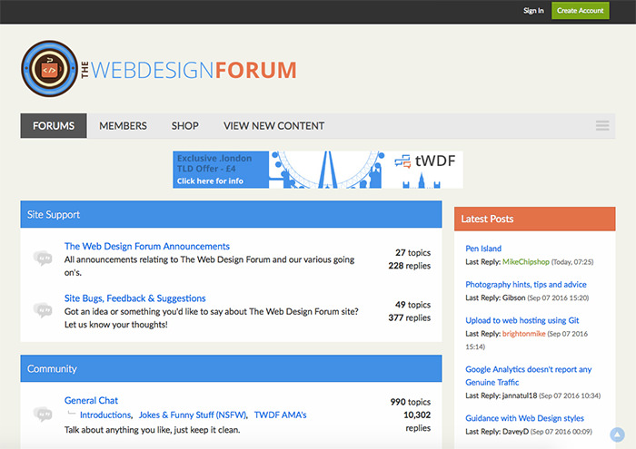 thewebdesignforum