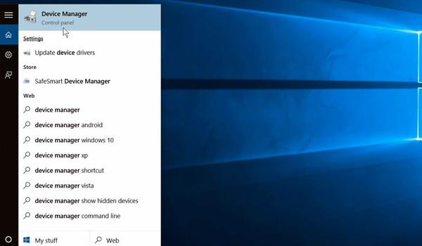 7 façons d'accéder au Gestionnaire de périphériques dans Windows 10