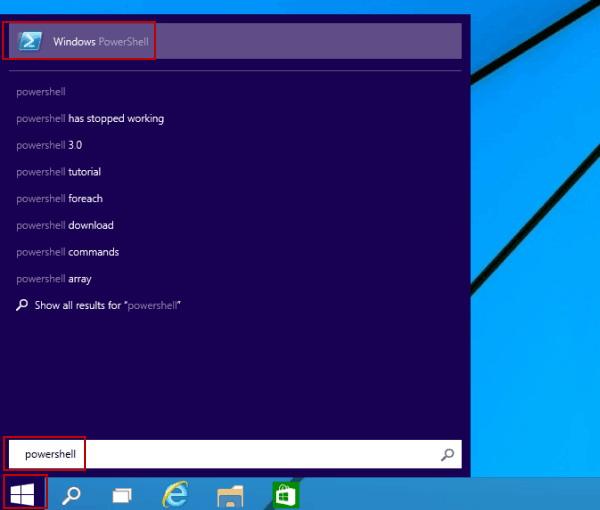 Accès Gestionnaire de périphériques via Windows PowerShell