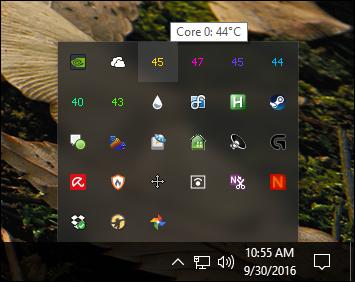 Basique CPU Contrôle de la température