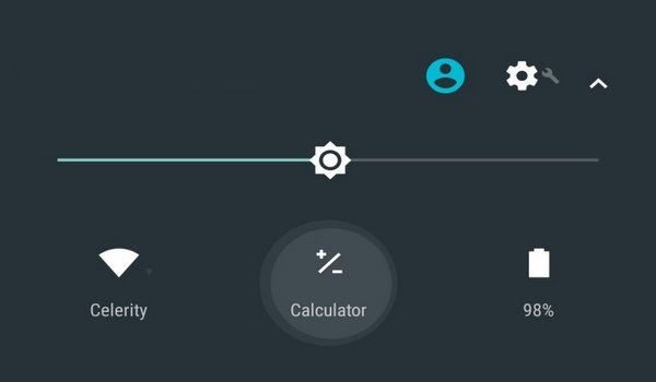 Comment ajouter Calculator dans Quick Settings sur Android Nougat
