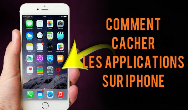 Comment cacher les applications sur iPhone