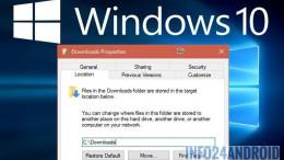 Comment changer le chemin de téléchargement par défaut de Windows