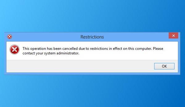 Comment désactiver le Panneau de configuration et l'interface Paramètres dans Windows