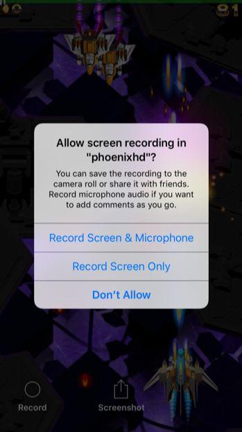 Comment enregistrer Gameplay sur votre téléphone iphone