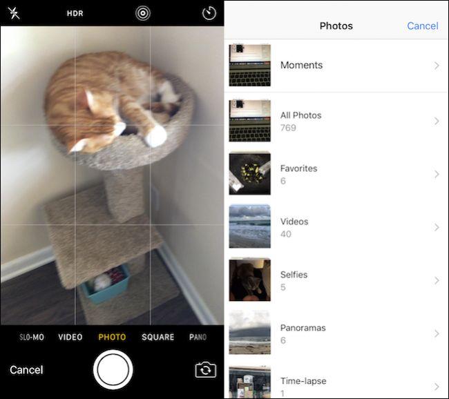 Comment joindre des photos dans iOS 10 info24andoid