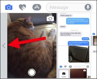 Comment joindre des photos dans iOS 10
