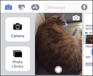 Comment joindre des photos dans iOS