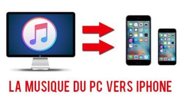 Comment transférer de la musique du PC vers iPhone