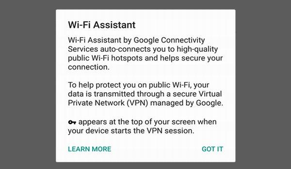 Comment utiliser une connexion Wi-Fi Assistant Android pour garder votre téléphone en sécurité sur les réseaux publics