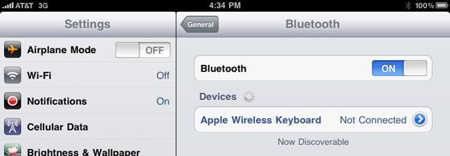 Désactiver Bluetooth Si vous n'avez pas besoin