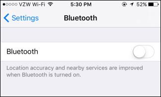 Désactiver Bluetooth et redémarrer votre téléphone