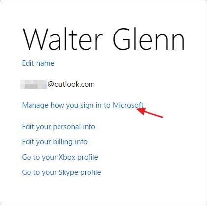 Gérer la façon dont vous vous connectez à Microsoft