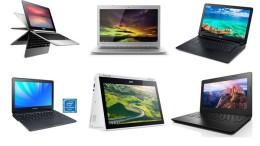 Les 8 meilleurs Chromebooks 2016