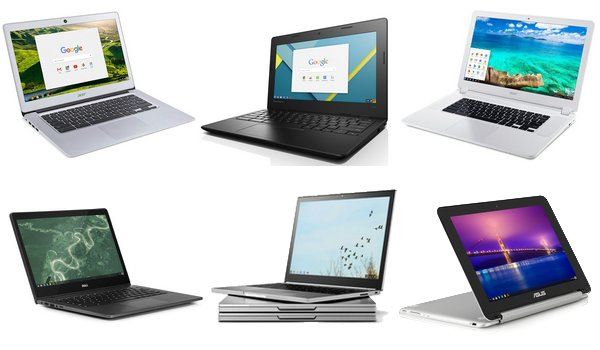 Meilleures Chromebooks (Octobre 2016)