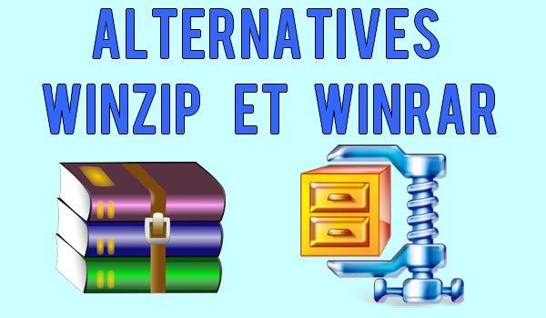 Meilleurs Alternatives WinZip et WinRAR