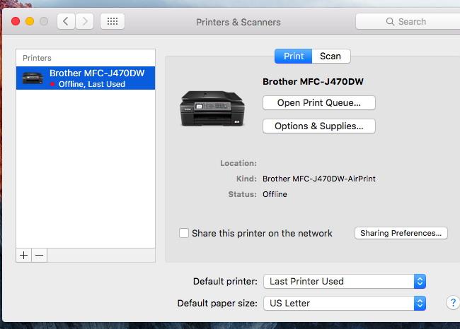 Mettre à jour vos pilotes d'imprimante