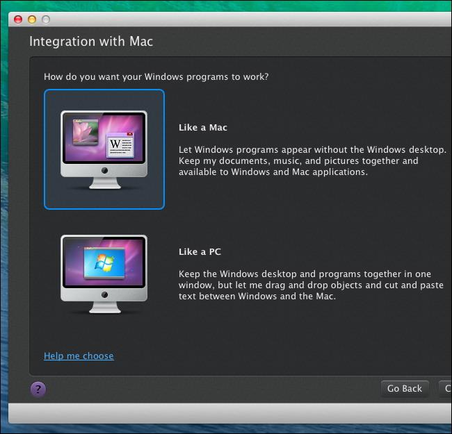 Parallels Desktop exécuter des logiciels Windows sur un Mac