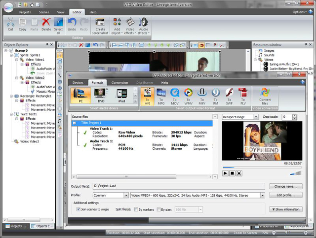 SVCD Video Editor