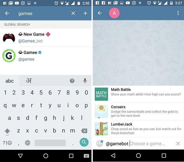 Telegram-Messenger-Game-Bots