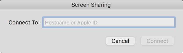 Utilisation de l'écran App Partage