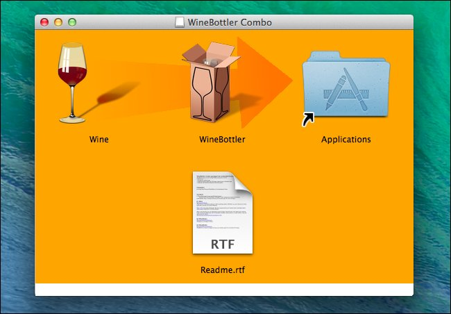comment installer le vin sur un mac