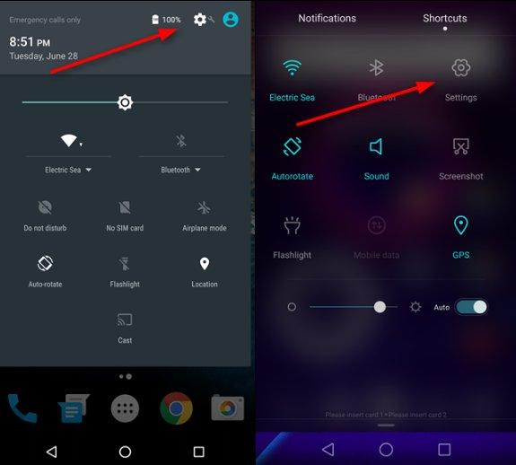 configurer les applications par défaut sur Android