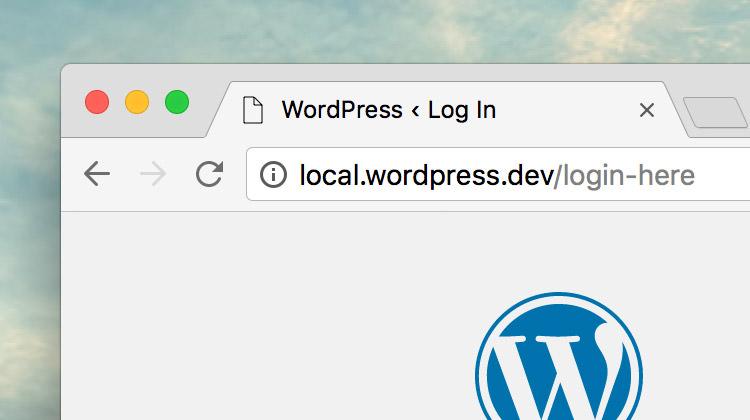 custom-wordpress-login-url