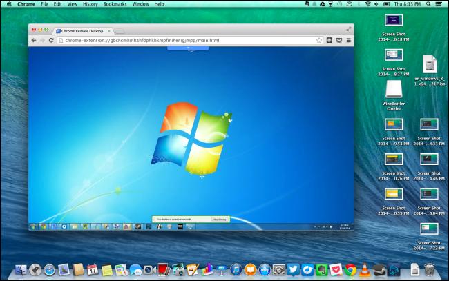run windows programs remotely on a mac