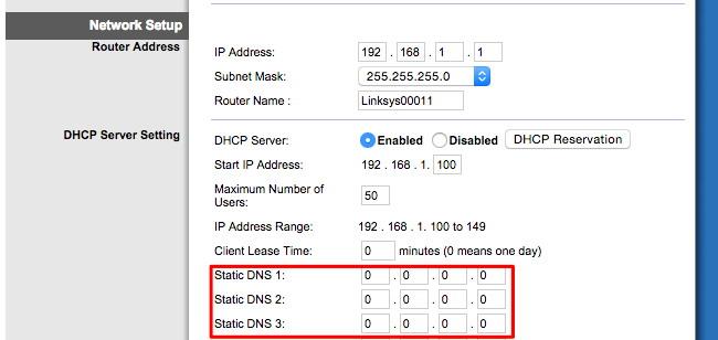 serveur DNS malveillant