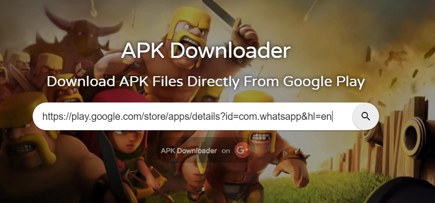 télécharger des fichiers APK directement à partir de Play Store