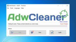 Comment faire pour supprimer les barres d'outils et Adware avec AdwCleaner