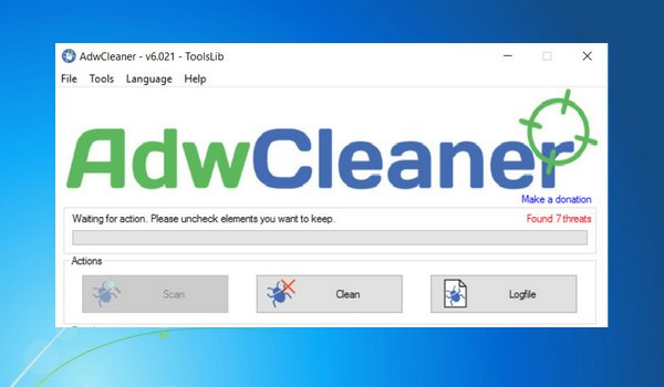télécharger adwcleaner toolslib