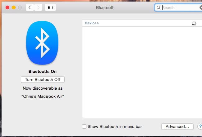 Désactiver Bluetooth