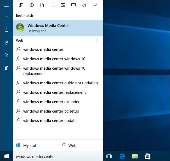 executez-windows-media-center