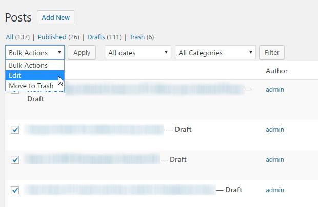 modifier-les-messages-en-vrac-dans-wordpress
