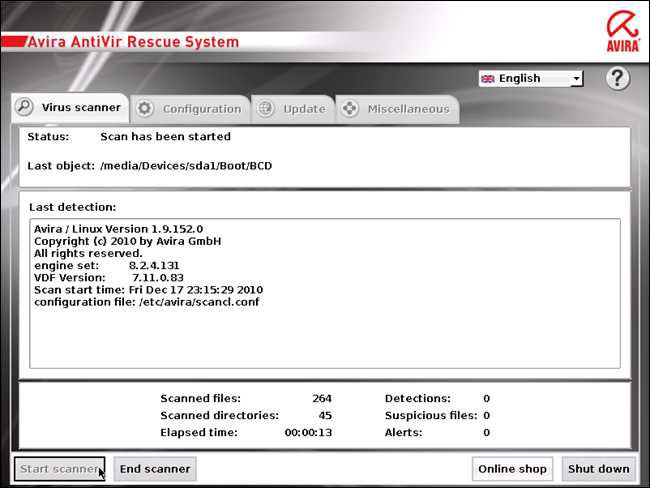 Si un scan simple n'a pas pu se débarrasser du Malware