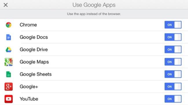 Utilisez les applications qui fonctionnent ensemble