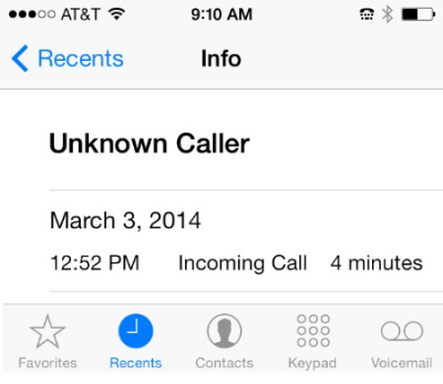 iphone-unknown-caller