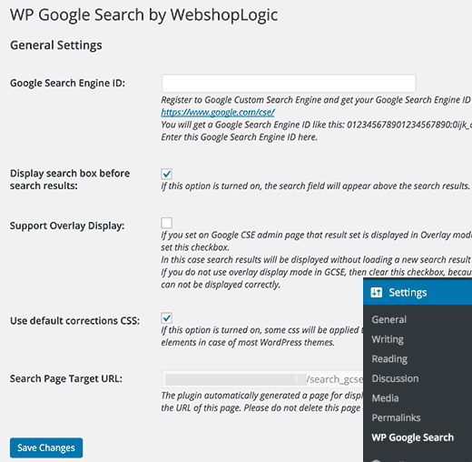 wp-googles-earch-parametres