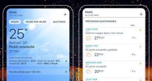 Les meilleures applications météo pour iPhone