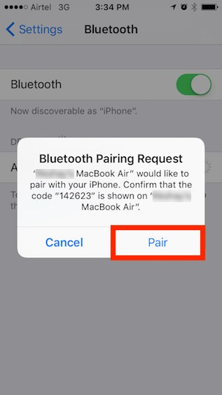 tap-on-pair-in-iphone