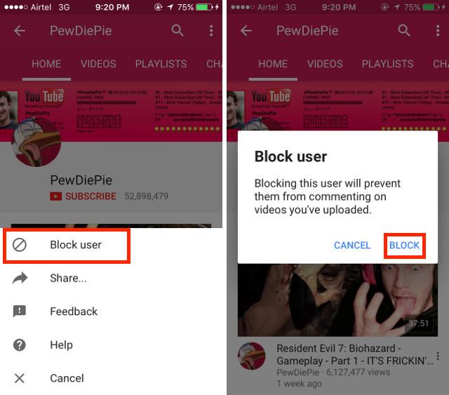 bloquer-lutilisateur-sur-youtube